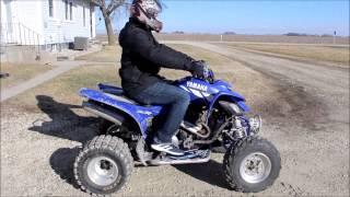 8. 2001 Yamaha Raptor 660r - Full Throttle Reviews