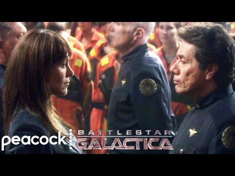 Battlestar Galactica | Galactica Meets The Pegasus