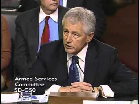 Sen. Graham Grills Hagel at Senate Confirmation Hearing