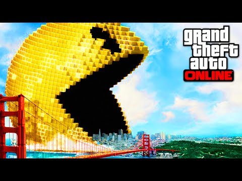 IL MANGE LA MAP DE GTA 5 (видео)