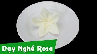 Cạo socola - Sủi hoa 5 cánh - Bài 8
