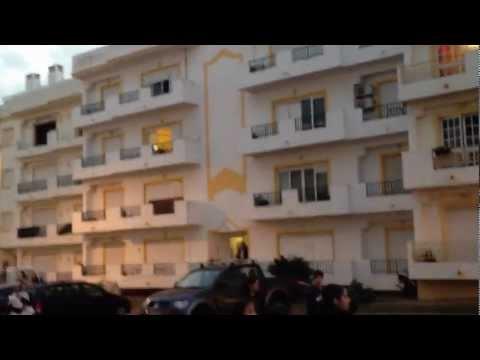 Algarve Lagoa tornado