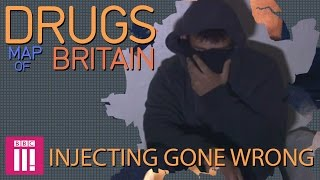Swansea United Kingdom  City new picture : Injecting Gone Wrong: Swansea | Drugs Map of Britain
