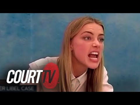 Amber Heard on the Stand in Johnny Depp's Libel Case
