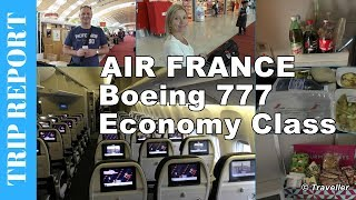 This is an Air France Economy Class Flight Review of our flight on an Air France Boeing 777 from Paris Charles de Gaulle Airport to Singapore´s Changi Airport. The tour begins where we have just arrived at Charles de Gaulle airport on another Air France Economy Class flight from Copenhagen. We make our way from the arrivals gate to Terminal 2E from where our Air France long-haul flight to Singapore will be departing. After spending some time exploring the airport, and stopping for a drink it is time to board our aircraft. After a longer delay our flight get´s underway and we present the viewer with the Air France Economy Class Cabin. Throughout the flight we update the viewer as to where we are and also show what it is like to be in Economy Class onboard an Air France Boeing 777.  This Tripreport includes a tour of this aircraft´s lavatory, a look at the Inflight Entertainment System, the Air France Inflight Magazine, the Air France Safety Video, a look at what inflight meals and inflight drinks are served. We also get a good view of the Air France Economy Class seats. After we have been served our inflight breakfast we begin our downward descent towards Singapore´s Changi Airport. The viewer is given some nice views from both the Final approach and short final before our Air France Boeing 777 lands at Changi Airport. The video includes the disembarkation from this aircraft before we (Maxi and Maro) make our way to our next flight hoping that we have not missed it!-----------------------------------------------------------------------------------------------OUR IMPRESSIONS:- The cabin crew was friendly and professional from the start to end of the flight.- The drinks selection was good although we did find that our Bloody Mary had a little too much  Vodka added to it. Maro enjoyed her chicken dinner more than I (Maxi) enjoyed my Sweet and  Sour Pork as I felt that the dish consisted more of rice than meat sauce. Breakfast was enjoyed  by us both. The snack box and d