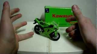 7. NewRay Diecast 1:18 Kawasaki ZX-6RR Ninja 2005 Review