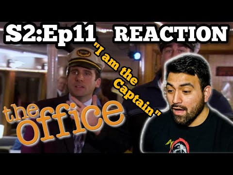 "The Office REACTION Season 2 Episode 11 ""Booze Cruise"""