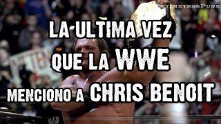 Video La Ultima Vez que la WWE Menciono a Chris Benoit download in MP3, 3GP, MP4, WEBM, AVI, FLV January 2017