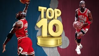 Michael Jordan Top 10 Greatest Poster Dunks