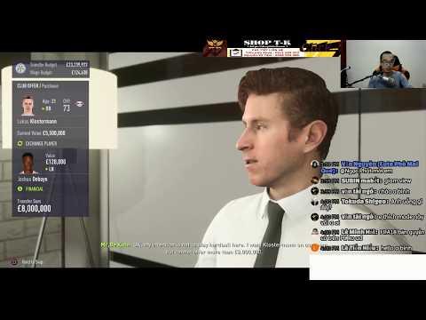 Career Mode FIFA 18 (Tập làm HLV) - Lầy xét tơ - part 2