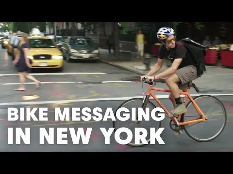 Red Bull   Bike Messenger Austin Horse: Streets & Avenues | Video