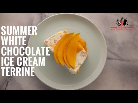 Cadbury Summer White Chocolate Ice Cream Terrine | Everyday Gourmet S6 E15