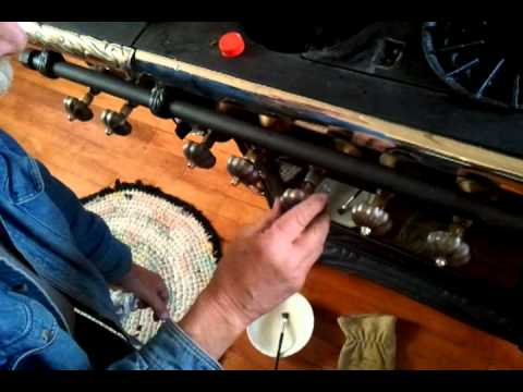 How to fix a gas leak on an antique stove (The Man)