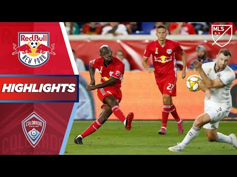 Video: New York Red Bulls vs. Colorado Rapids | HIGHLIGHTS - August 31, 2019