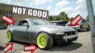 EVERYTHING went wrong on the LS350Z... by Evan Shanks