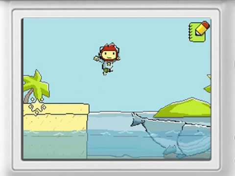 scribblenauts trailer - Direct from Warner Bros. comes the first trailer from the Nintendo DS game Scribblenauts. Scribblenauts boasts the ability to let the player draw almost anyt...