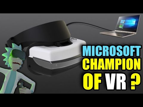 , title : '$299 VR for EVERYONE! - Microsoft… The CHAMPION OF VR!?'