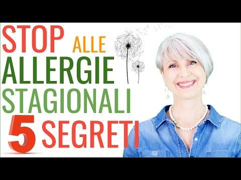 5 segreti per contrastare le allergie stagionali
