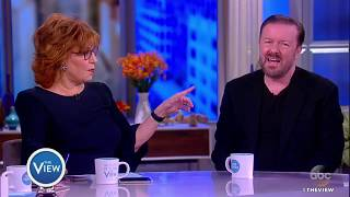 Video Ricky Gervais Talks Offensive Comedy, New Special 'Humanity' | The View MP3, 3GP, MP4, WEBM, AVI, FLV September 2018