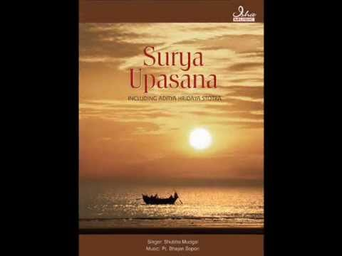 dhyan - Om Adityaya Namaha! Track: Dhyaan Mantras Artist: Shubha Mudgal Music: Pt. Bhajan Sopori Album: Surya Upasana Download links: http://itunes.apple.com/us/albu...