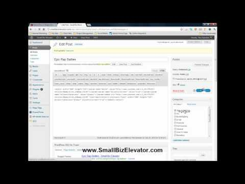 How to Embed YouTube Videos into WordPress