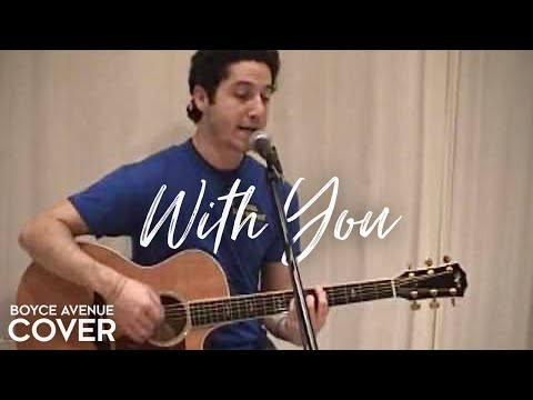 Chris Brown - With You (Boyce Avenue Acoustic Cover) On Spotify & Apple