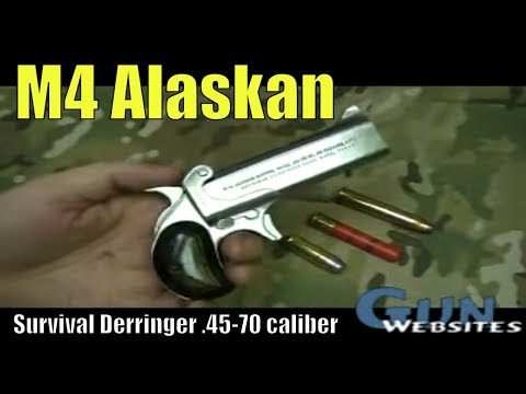 M4 Alaskan Survival .45-70 Derringer