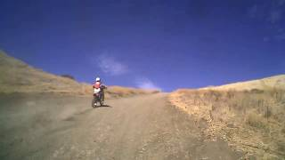 3. Carnegie State Vehicular Recreation Area on a 2007 KTM 400 XC-W