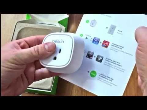 Belkin WeMo Insight Outlet Switch with App Setup Tips