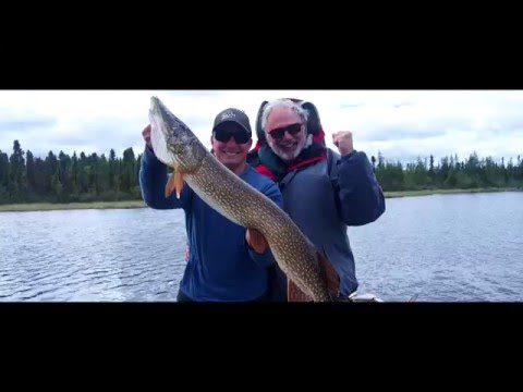 Watch: Northern Pike Fishing