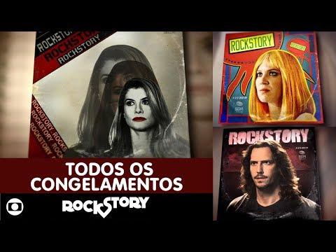 Globo - Rock Story: todos os congelamentos da novela