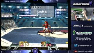 Some of my favorite players: Numerics (ZSS) Vs Wolf (Link) from Smashing Grounds: POOBRise Kingdom.