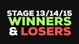 I give you some highlights and my winers and losers of the stages 13, 14, & 15.Different videos coming soon. follow me bruhhttps://www.facebook.com/theVeganCyclisthttps://www.strava.com/athletes/180549https://www.instagram.com/the_vegan_cyclist/