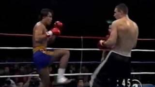 Vitali Klitschko Kickboxing in Japan 1993
