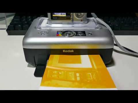 Download Printing With A Kodak EasyShare Printer Dock 3 And Kodak EasyShare CD43 Camera hd file 3gp hd mp4 download videos