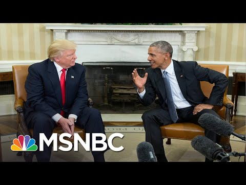 Memo to Trump: 'You Have Always Been Absolutely Terrified Of Your Predecessor'   MSNBC