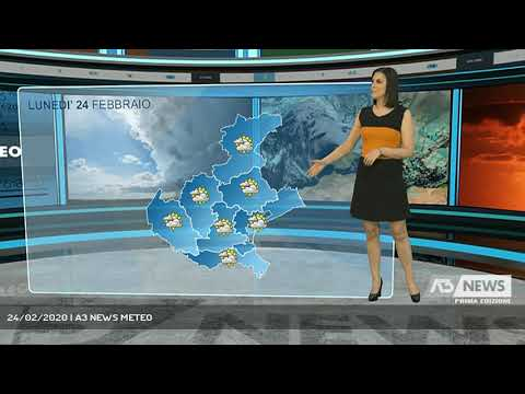 24/02/2020   A3 NEWS METEO