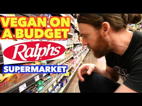 VEGAN At RALPHS Supermarket