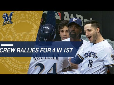 Video: NLCS Gm6: Brewers open up with 4 runs in the 1st inning
