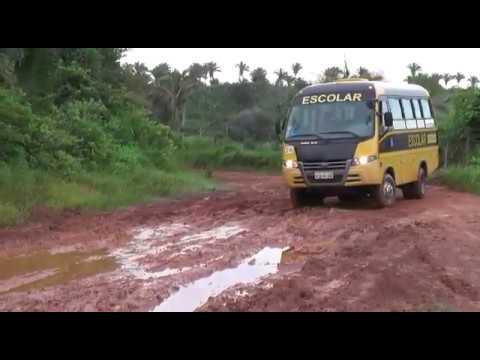 Chuva aumenta o problema da estrada entre Trizidela do Vale e São Luís Gonzaga