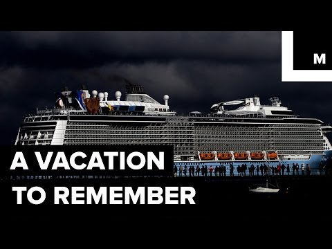 VIDEO: A rough night at sea