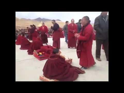 H.E. Denma Gonsa Rinpoche's Enthronement in Gonsa Monastery