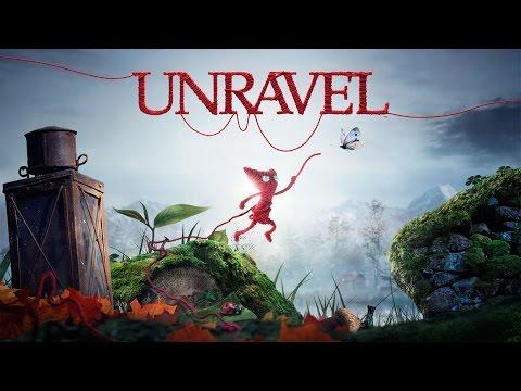 Unravel: Головоломки в игре - Видео игрового процесса | Gamescom 2015 - PS4/Xbox One/ПК