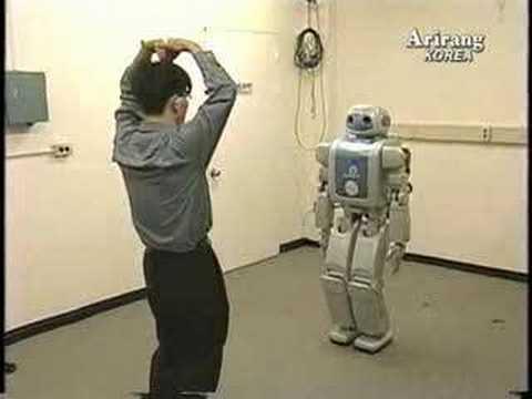 Humanoidní robot z Koreje