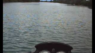 9. sea doo gti 130 hits top speed on a river - tagliamento -