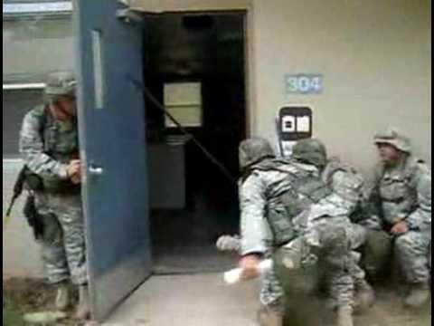 Marines de limpieza