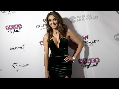"Leanna Walker 2018 Babes in Toyland ""Holiday Toy Drive"" Red Carpet"