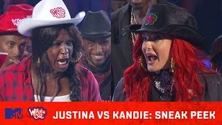 Justina Valentine Heats Up the Ring w/ Kandie 🔥  Wild 'N Out   #GotDamned