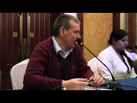 NPOC  Session in Beijing:  Klaus Stoll of  Global Knowledge Partnership