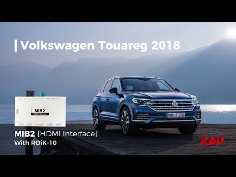 2018 VW Touareg with Android navigation (9.2inch)